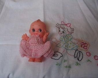 tiny sweet face kewpie doll