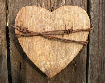 Wooden Heart Wall Decor