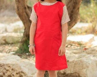 Red cherry dress