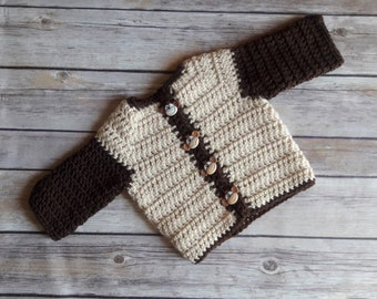 Monkey Sweater for Babies