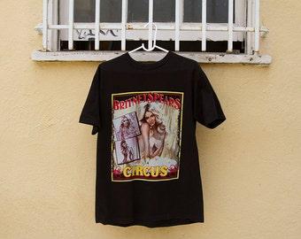 Britney Spears Circus Tour Shirt Sz. M