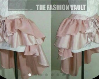 Cosplay Inspired Princess Peach bustle burlesque skirt