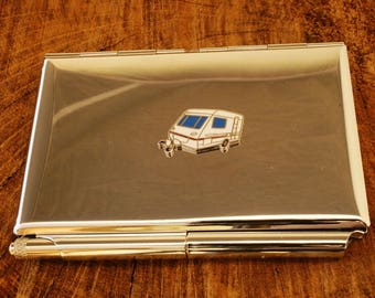 Caravan Credit Card Holder With Notepad Gift