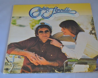 Vintage Gatefold Record Captain and Tennille: Song of Joy Album SP-4570