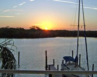 Morning Sunrise in Ruskin Florida
