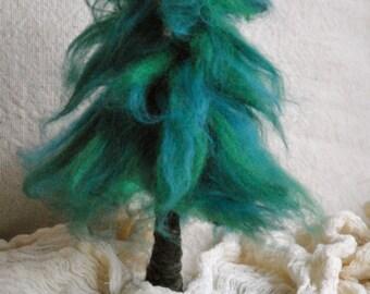 Fir Needle Felted  Waldorf Inspired : Pine, Evergreen tree