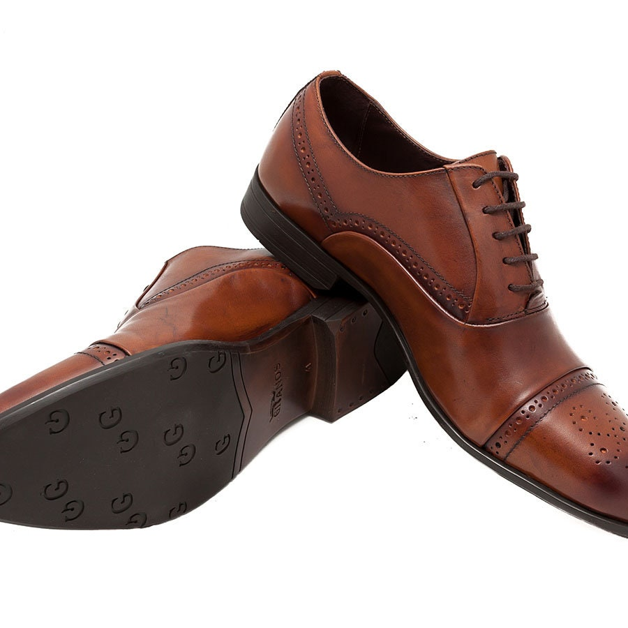 Hommes 's Chaussure leather Chaussure 's s 4758bc