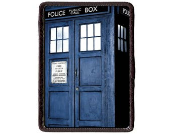 Doctor Who Tardis Sew On patch