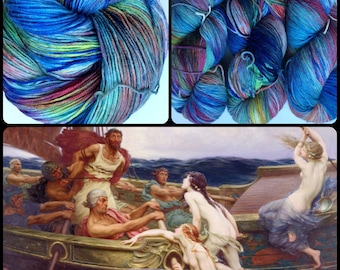 """THE ODYSSEY Inspired """"Call of the Siren"""" on MCN. Ready to Ship."""