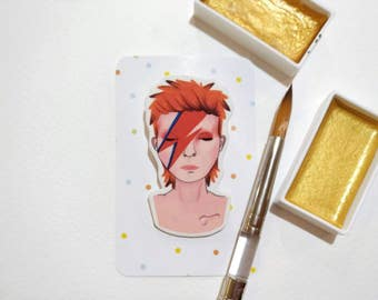 David Bowie / Ziggy Stardust brooch