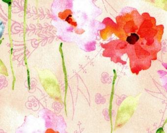 Poppies - Floral Cream from EE Schenck