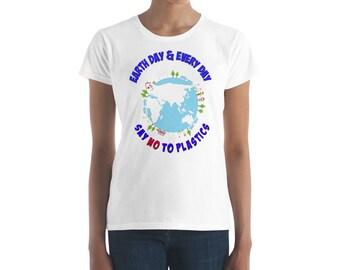 Women's Earth Day short sleeve t-shirt