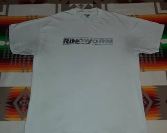 90s Ringworm T Shirt Size XL Integrity Converge Hardcore Metal