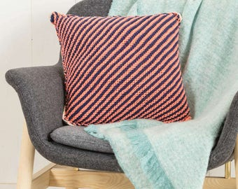 Pillow knitting pattern - easy - knitting pattern - instant download