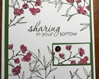 Sharing In Your Sorrow Greeting Card
