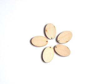 Oval wooden shape. Unfinished Wood Oval. Laser cut Oval Cuts. #AUSK001