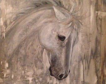 "Horse Painting, Horse Oil Painting, Horse Art, Giclee Print, ""Glory"""