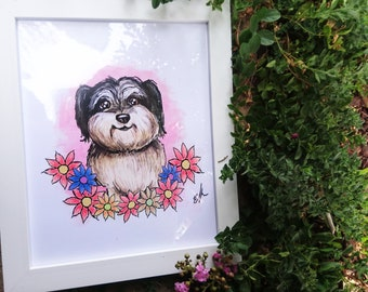 Custom Pet Portraiture (Digital Drawing)