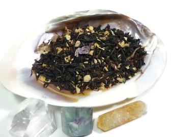 1 oz - Dream of Mississippi - black tea - plum pear and ginger tea - loose leaf tea