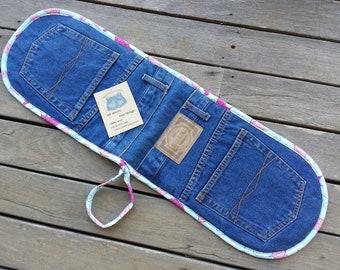 Recycled Denim Jeans Oven Mitt / Pot Holder