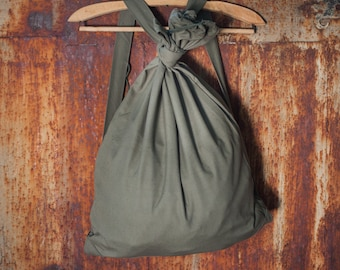 Military school backpack army canvas rucksack soviet green cotton vintage school backpack soldiers backpack duffle bag back to school