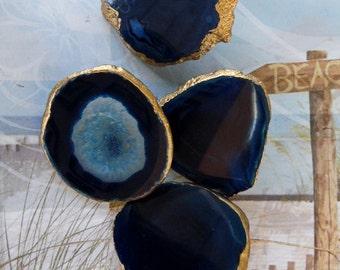 Large Green Calcite Gemstone Drawer Pull Knobs Handles Custom