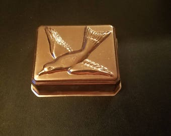 Small Bird Copper Baking Mold / Jello Mold / Cooking / Baking