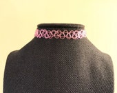 Pink Tattoo Choker, Best ...