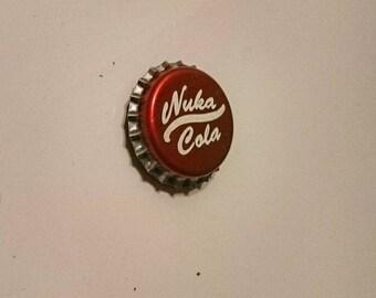Nuka Cola Bottle Cap Fridge Magnet - Fallout enspired gamer gift