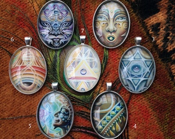 Beauty Abounds - Cabochon Necklace Array by Ishka Lha