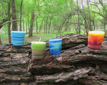 The Elements Candles (Set of 4)