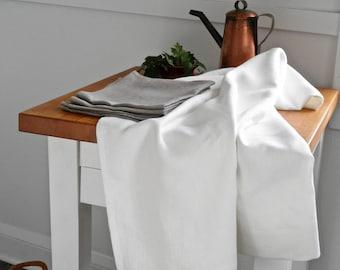 White Linen Tablecloth, Natural Linen, Linen Table Cloth, Bohemian Linen Table Cloth, Linen