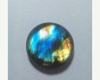 80% OFF SALE Labradorite Round Cabochon 27 MM