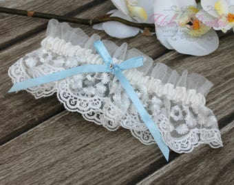 FAST Shipping!!!!  Beautiful Lace Wedding Garter, Bridal Garter, Garter, Lace Garter, Something Blue, Blue Wedding Garter, Toss Garter