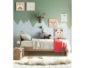 Kids Room, Wall Decor,Childrens Room, Art Baby Gift
