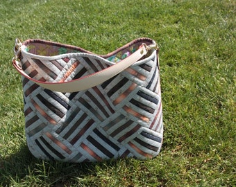 Rail Fence Bag [Bag Pattern]