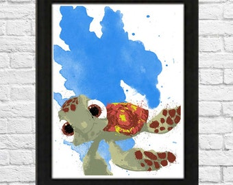 Finding Nemo's Squirt Poster