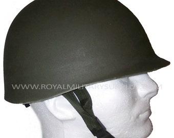 Helmet - M1 (US Army) - WW2 Replica (Lightweight Plastic) - OD (Olive Drab)