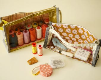 Aneela Hoey - Boxy Clear Pouch - Paper Pattern - HOEY_BCP