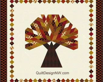 Big Tree quilt pattern