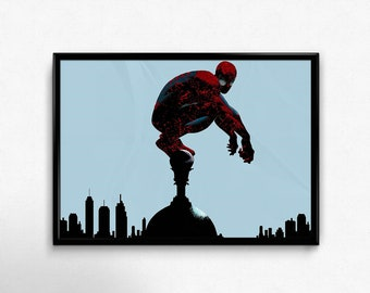Spiderman print wall art home decor