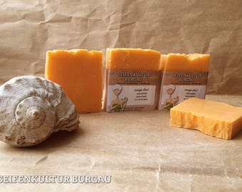 "Sheep's milk soap ""orange-cinnamon"""