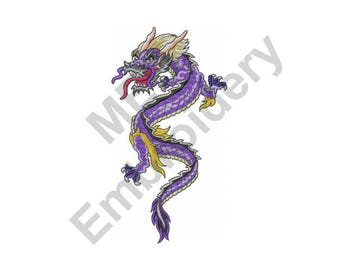 Dragon - Machine Embroidery Design, Chinese Dragon