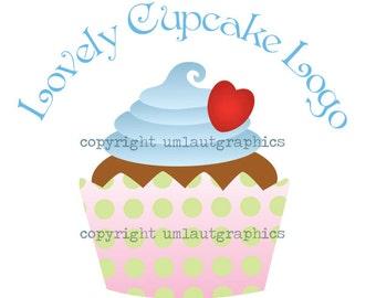 Pre Made Cupcake Logo