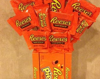 Reese's Custom Made Candy Bouquet