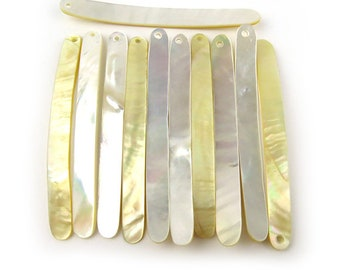 Mother of Pearl sticks, 6 pcs