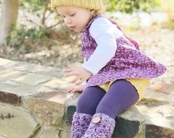 Mustard Knit Look Bear Beanie / Winter Hat / Baby Beanie / Baby Hat