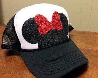 Minnie Mouse Ears Trucker Hat