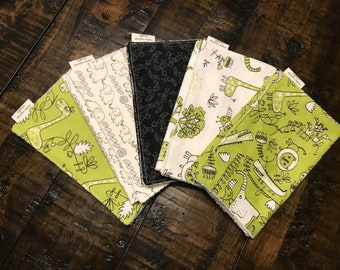 Safari Burp Cloth Set