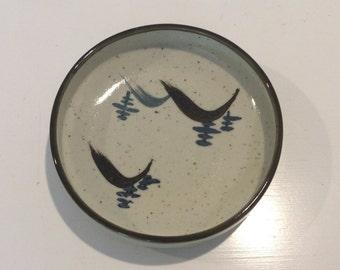Vintage Ceramic Stoneware Dish